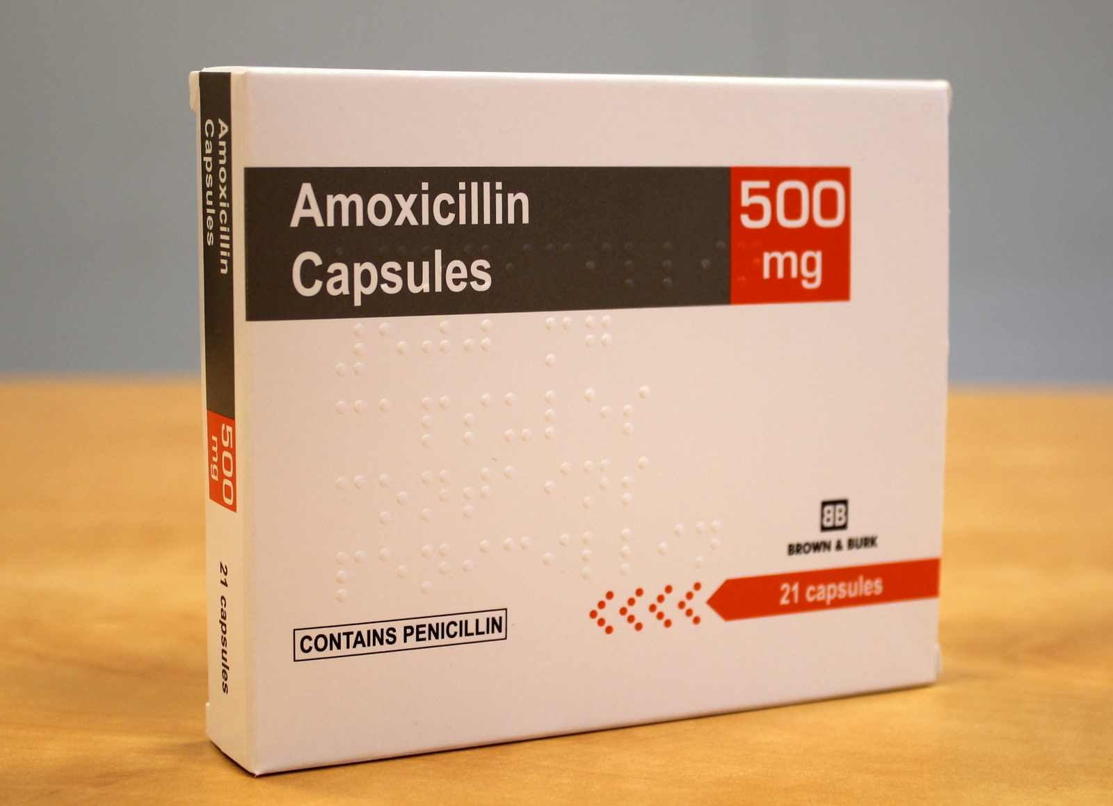 Amoxicillin Capsules 500mg