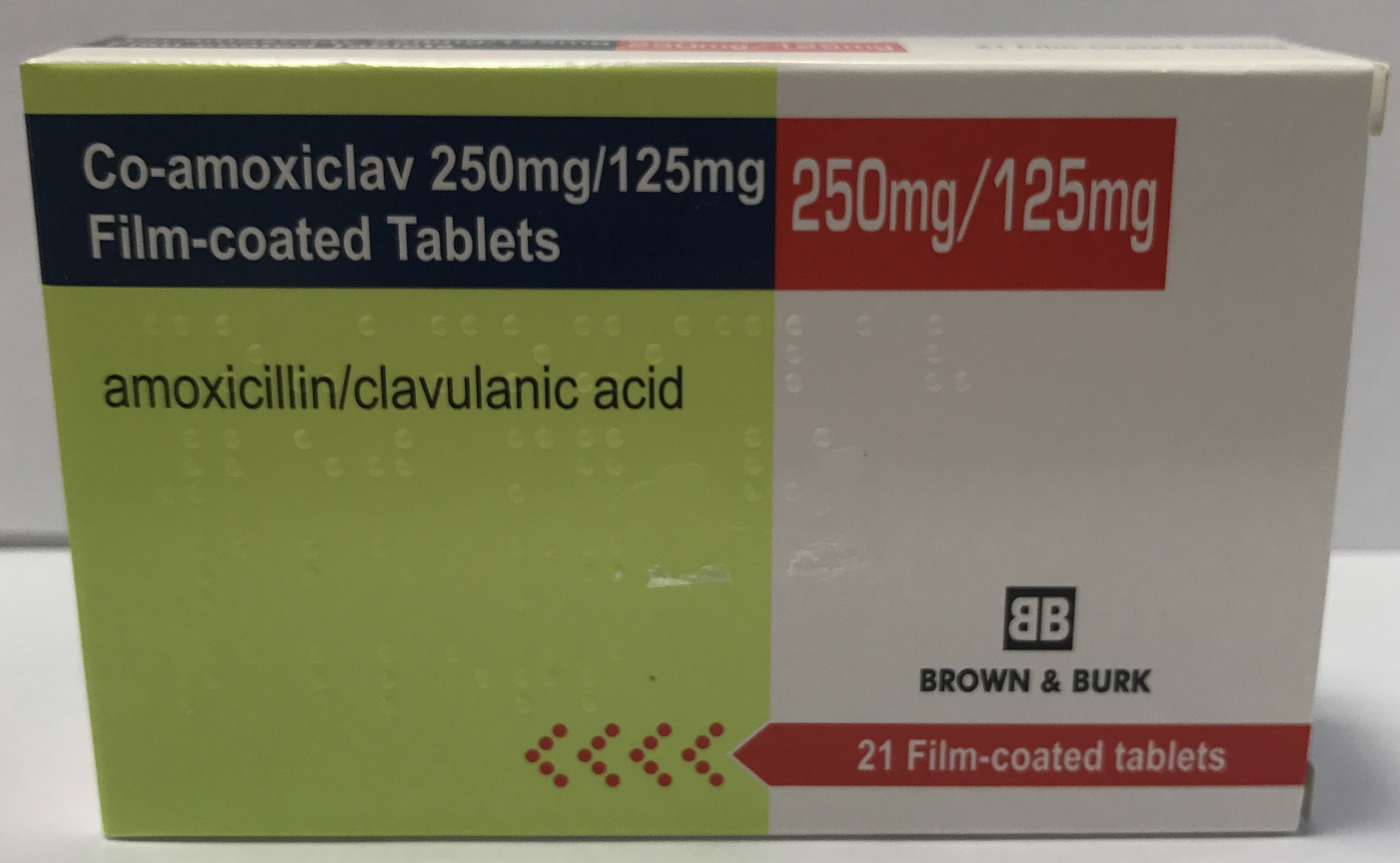 Co Amoxiclav 250mg/125mg