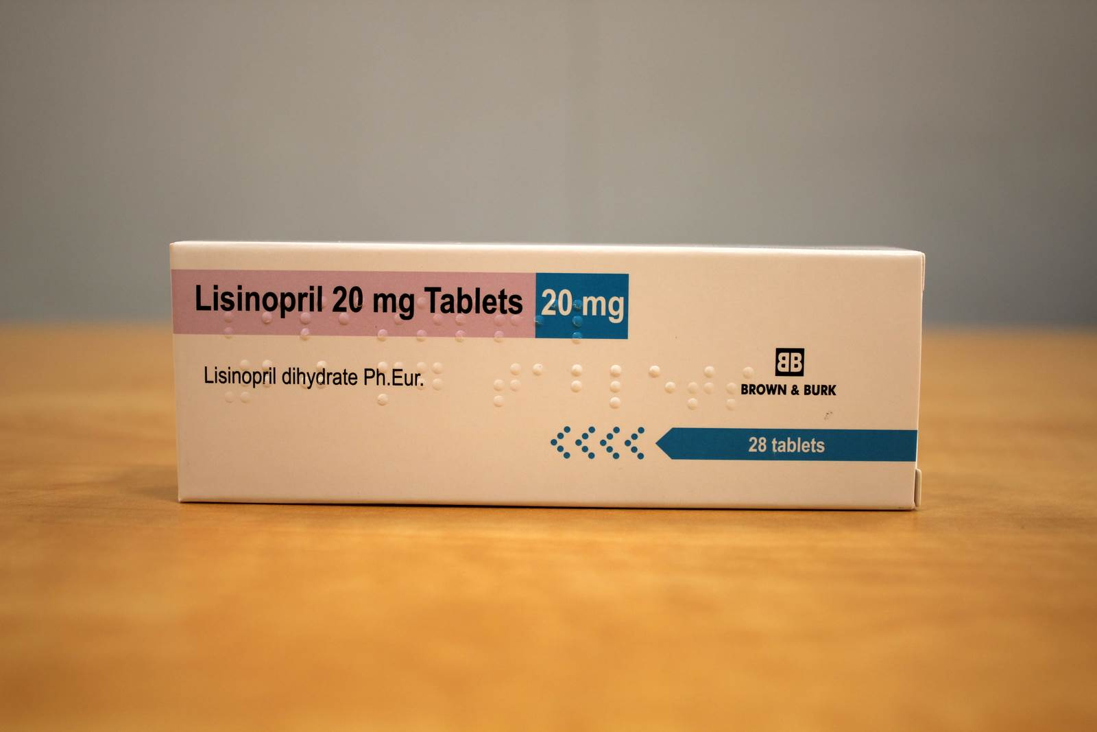 Lisinopril 20 mg spc