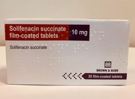 Solifenacin 10mg Tablet