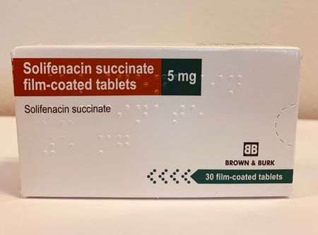 Solifenacin 5mg Tablet